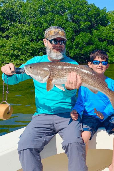 Catching Redfish in Tampa, Florida
