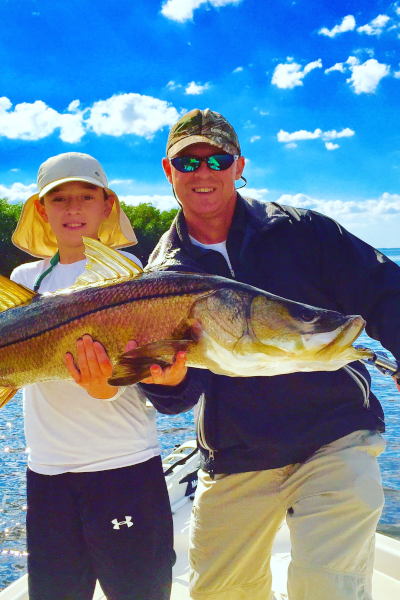 Catching Snook in Tampa, Florida